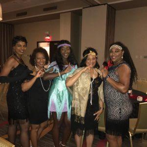 AKA's Represent: Fredria Bayless, Dawana Taylor, Kasia Redding, Frances Whiteurst & Felisha Stiff