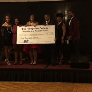 Annell Thompson Jones Scholarship Recipients